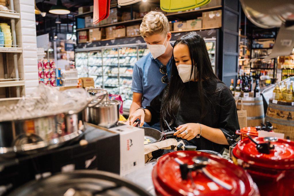 Produit smart affluence retail covid